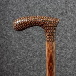 Трость для ходьбы «Чехов» (Каракулевая) Трости ручной работы мануфактуры Востротиных