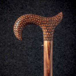 Трость для ходьбы «Елизавета» (Каракулевая) Трости ручной работы мануфактуры Востротиных