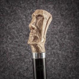 Трость для ходьбы «Моаи» (Античная) Трости ручной работы мануфактуры Востротиных